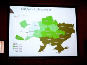 Regionale Zustimmung zur Zweisprachigkeit