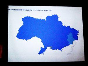 Ergebnisse der Präsidentschaftswahlen nach Verwaltungsbezirken