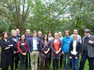 TeilnehmerInnen des AutorInnen-Workshops Oktober 2014