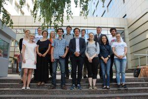 Mitglieder des AK Osteuropa bei der EU-Delegation in Kiew Mai 2014
