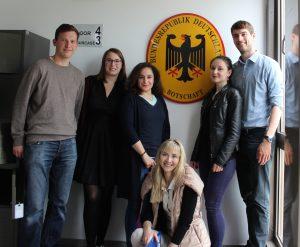 Hier ein paar Vertreter*innen des AK Osteuropa